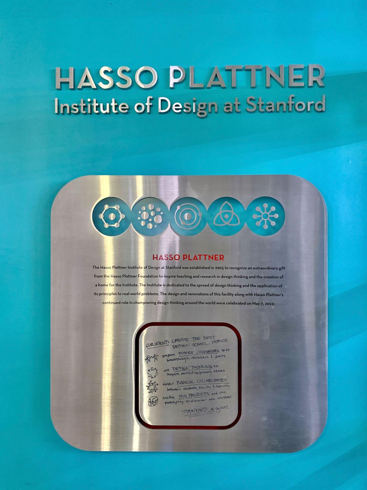 Hasso Plattner Institut Design Stanford