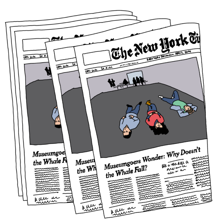 New York Times Blue Whale