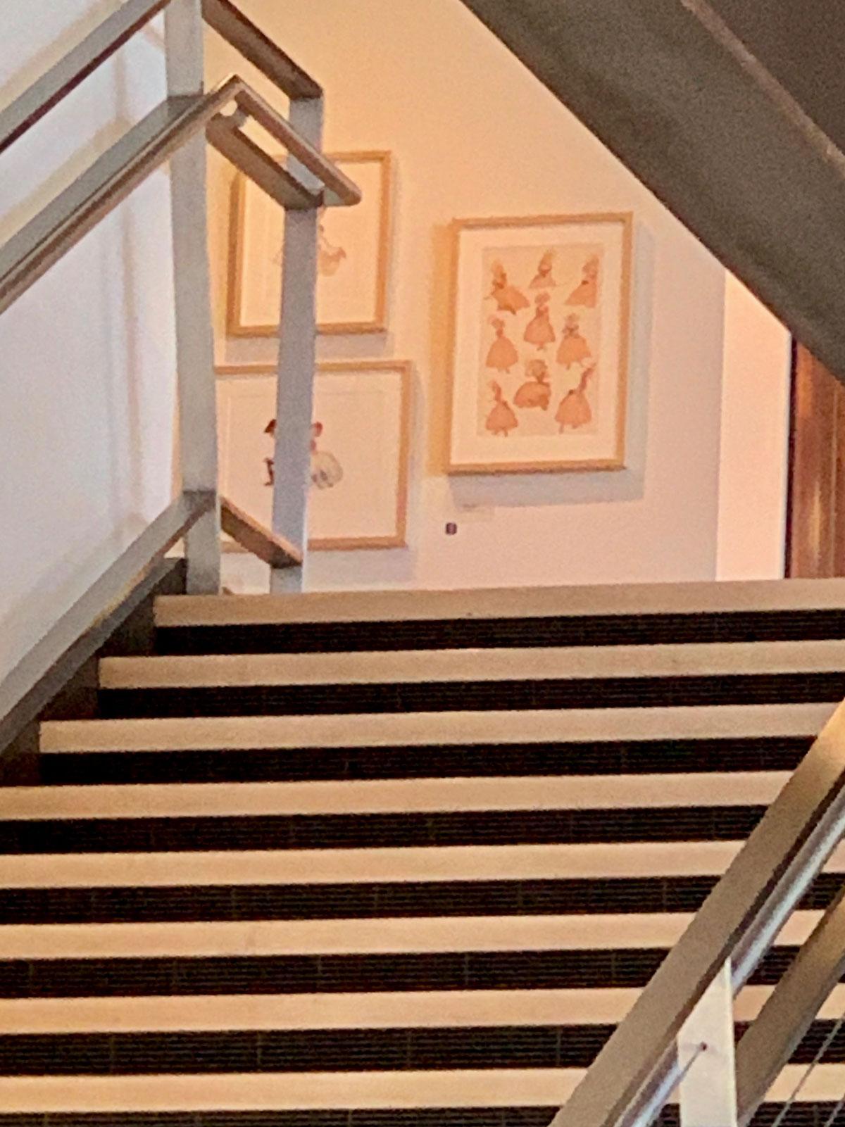 Pixar Treppenhaus